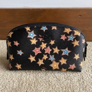 Coach Cosmetic Case with Star Space Pattern